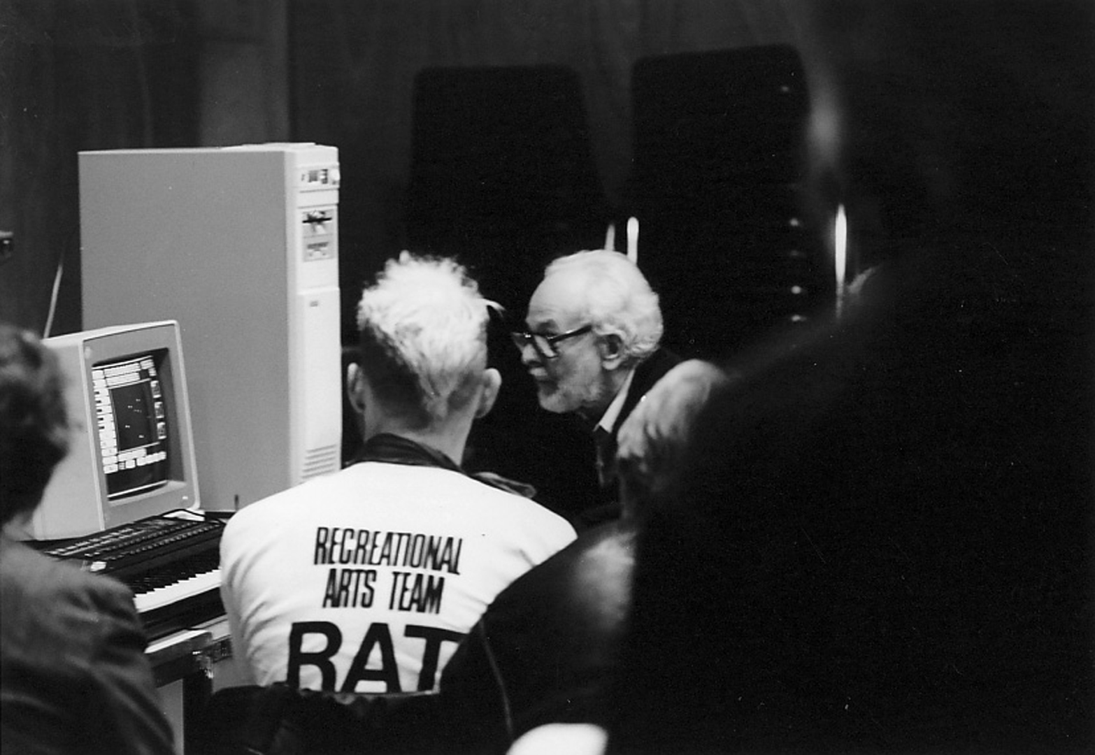©SISEA: Second International Symposium on Electronic Art, John Whitney Sr., Demonstration