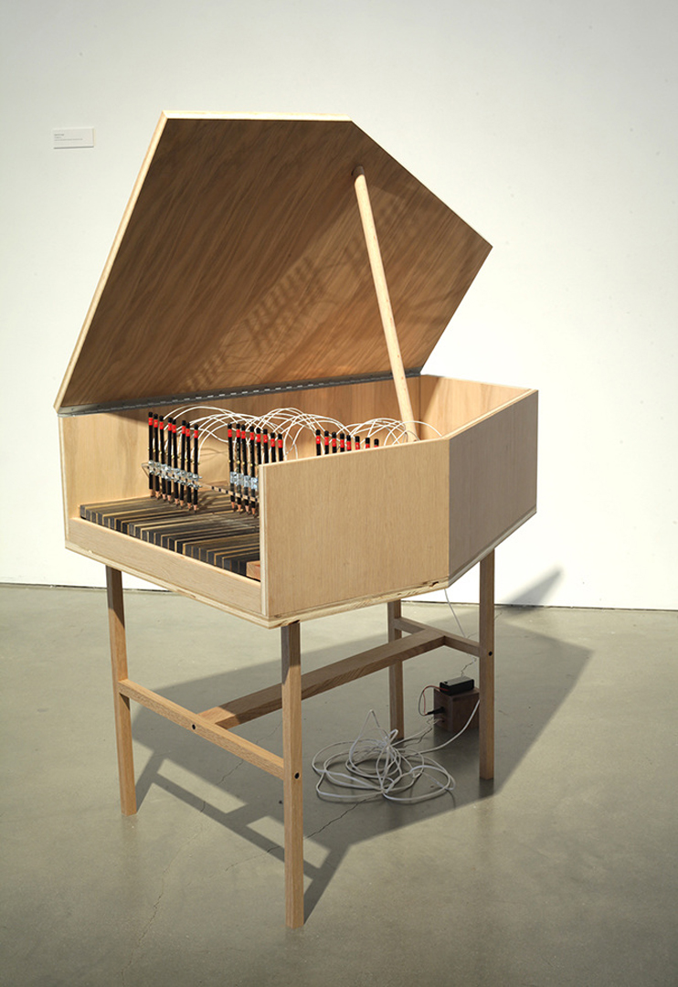 ©2013, Phoebe Hui, Graphite Piano