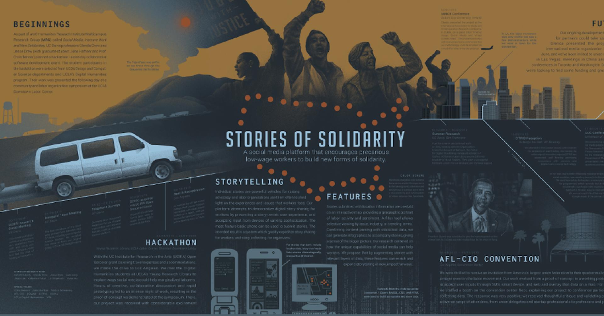 ©ISEA2016: 22nd International Symposium on Electronic Art, Glenda Drew, Jesse Drew, and Jack Leng, Stories of Solidarity