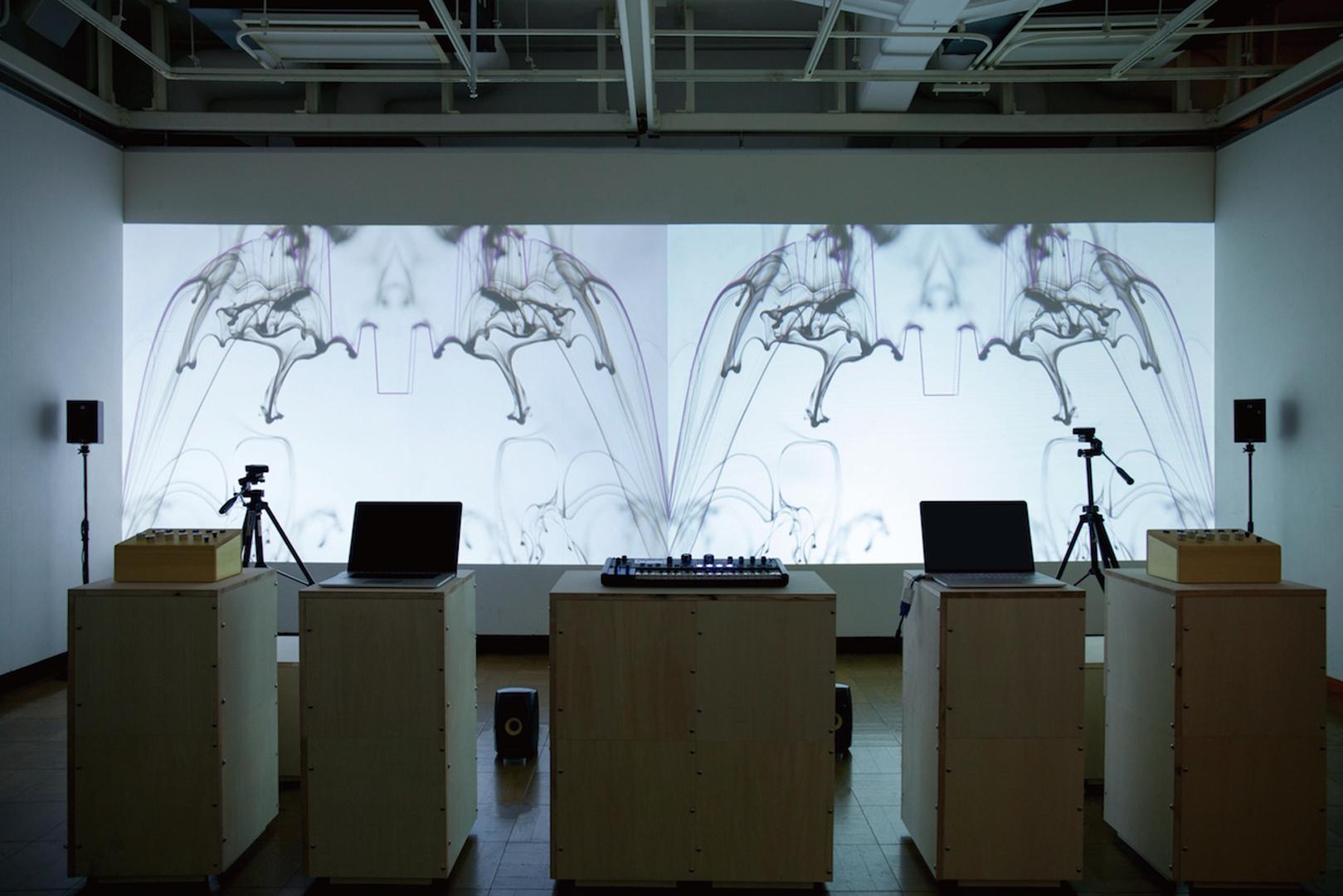 ©2015, Katsufumi Matsui and Tatsuya Ogusu, Boundary Synthesizer II