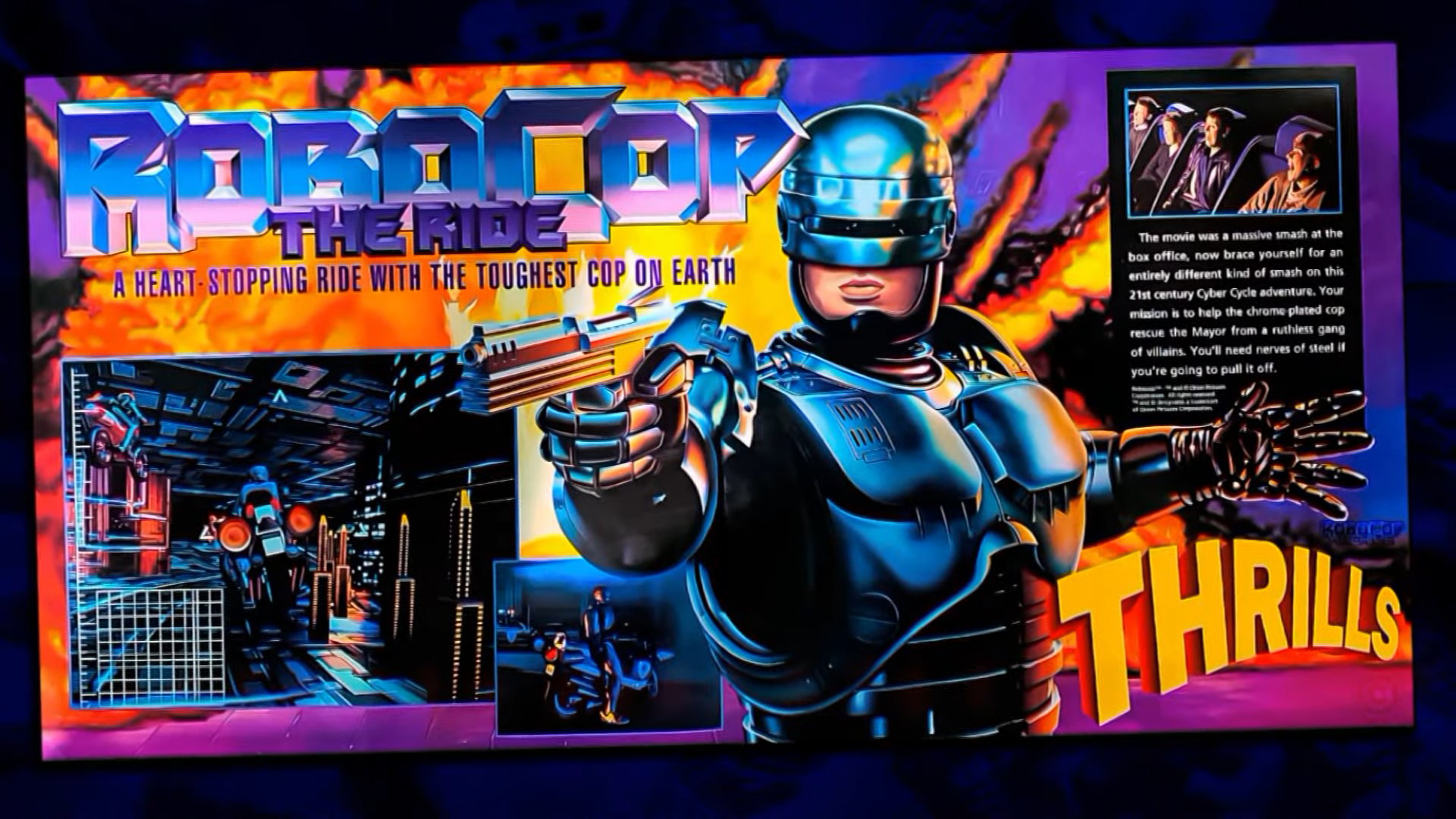 ©, , Robocop: the Ride (1993)