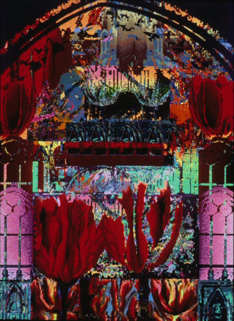 ©1990, Cynthia Beth Rubin, Gothic Arch
