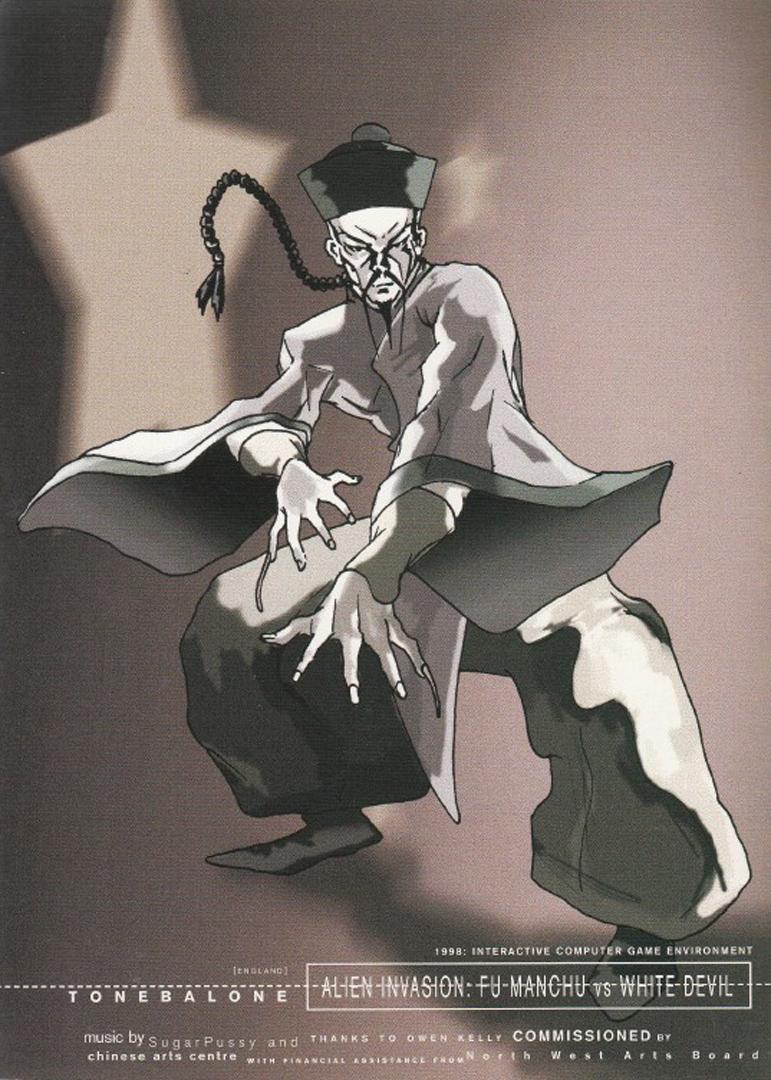 ©, Tone Balone, Alien Invasion: Fu Manchu vs White Devil