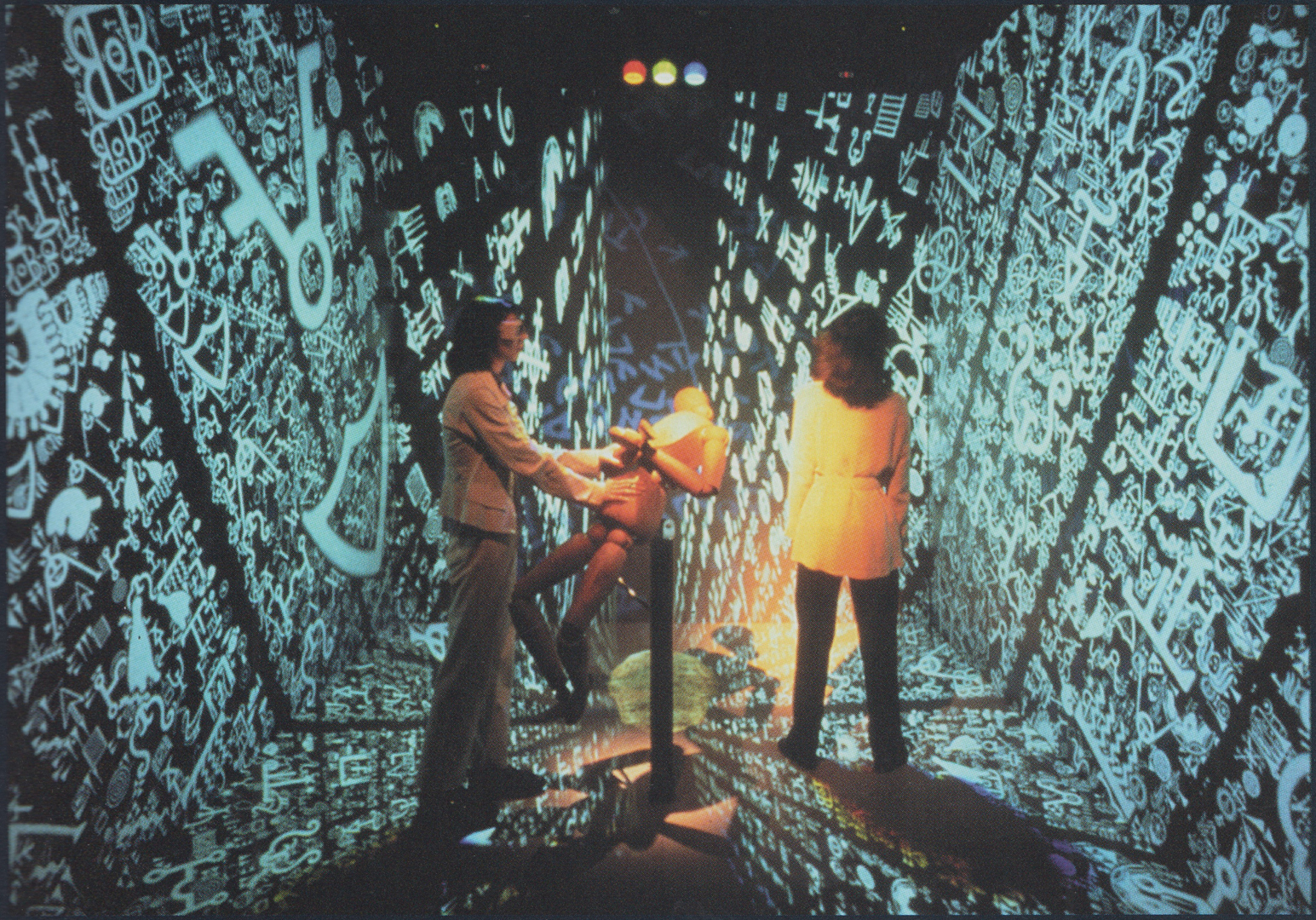 ©1997, Agnes Hegedus, Jeffrey Shaw, and Bernd Lintermann, Configuring the Cave