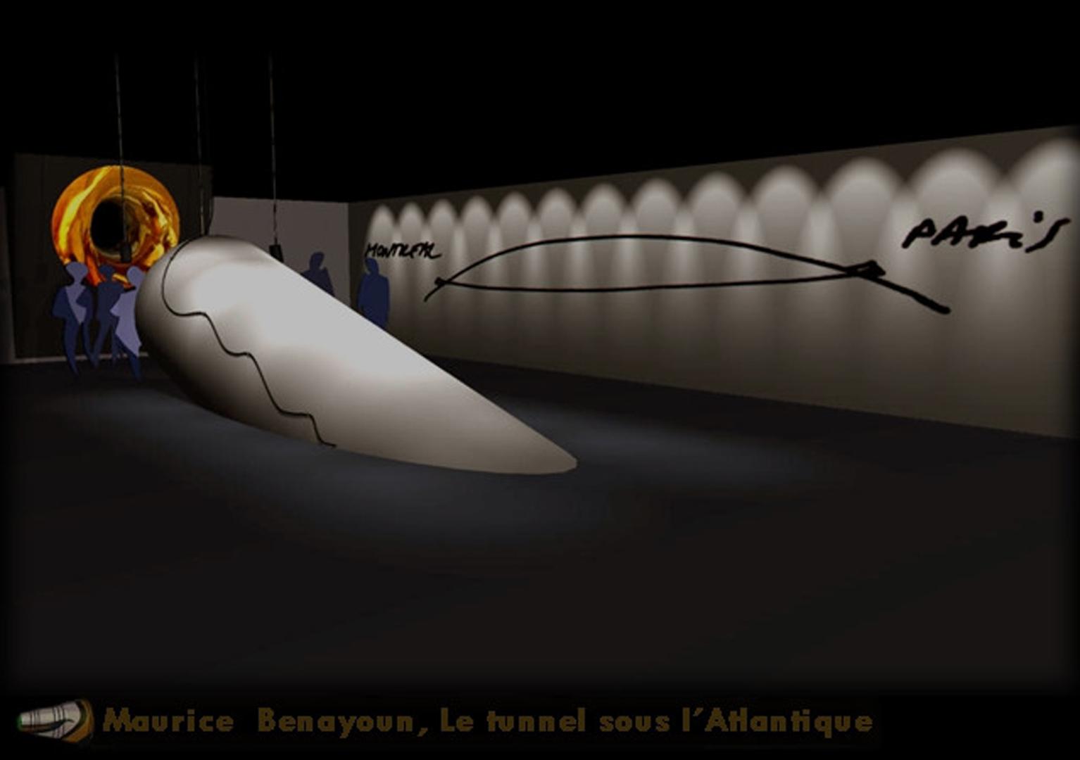 ©, , Le Tunnel sous l'Atlantique