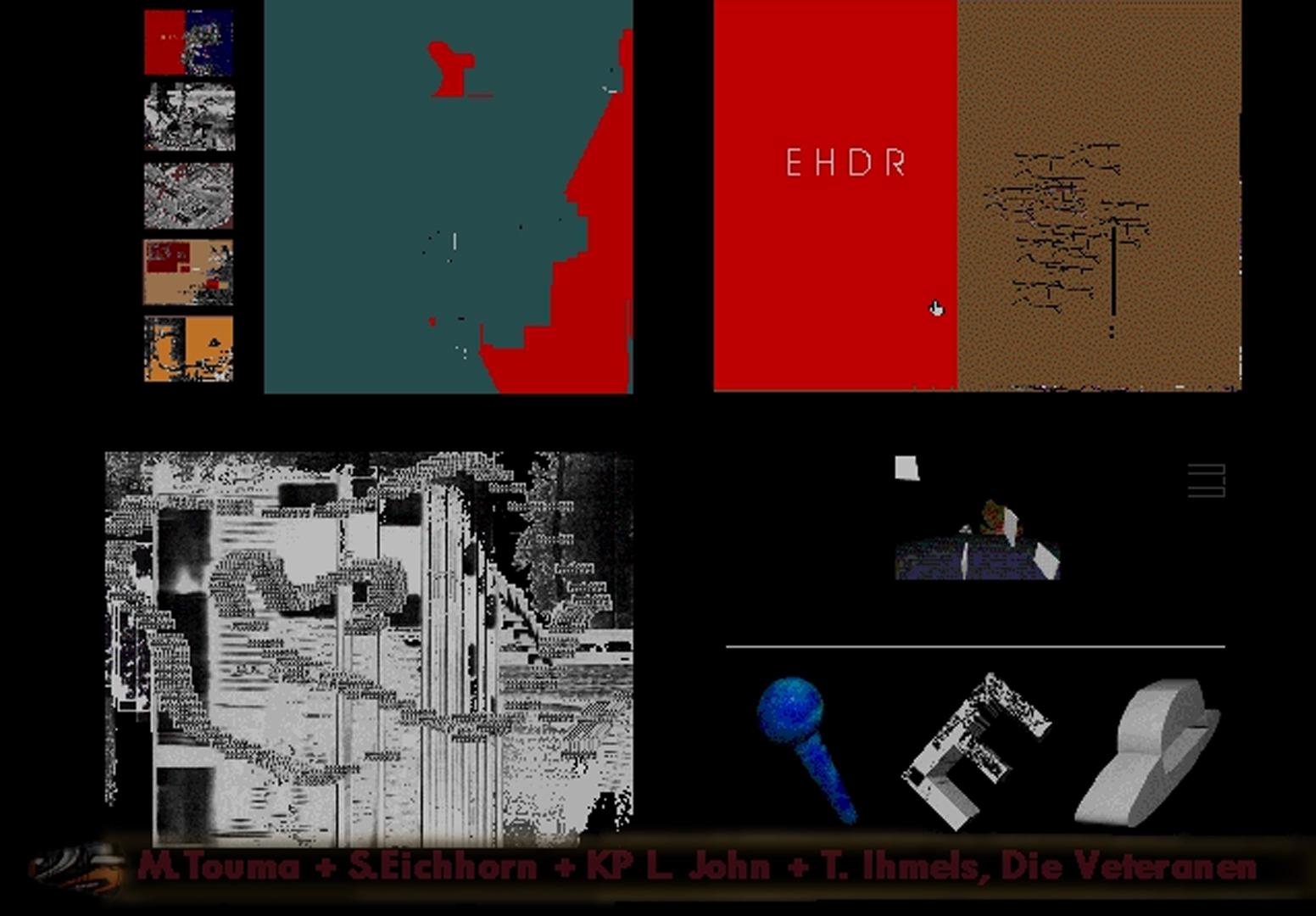©, Stephan Eichhorn and K.P. Ludwig John, Die Veteranen: An Art Project for CD-ROM