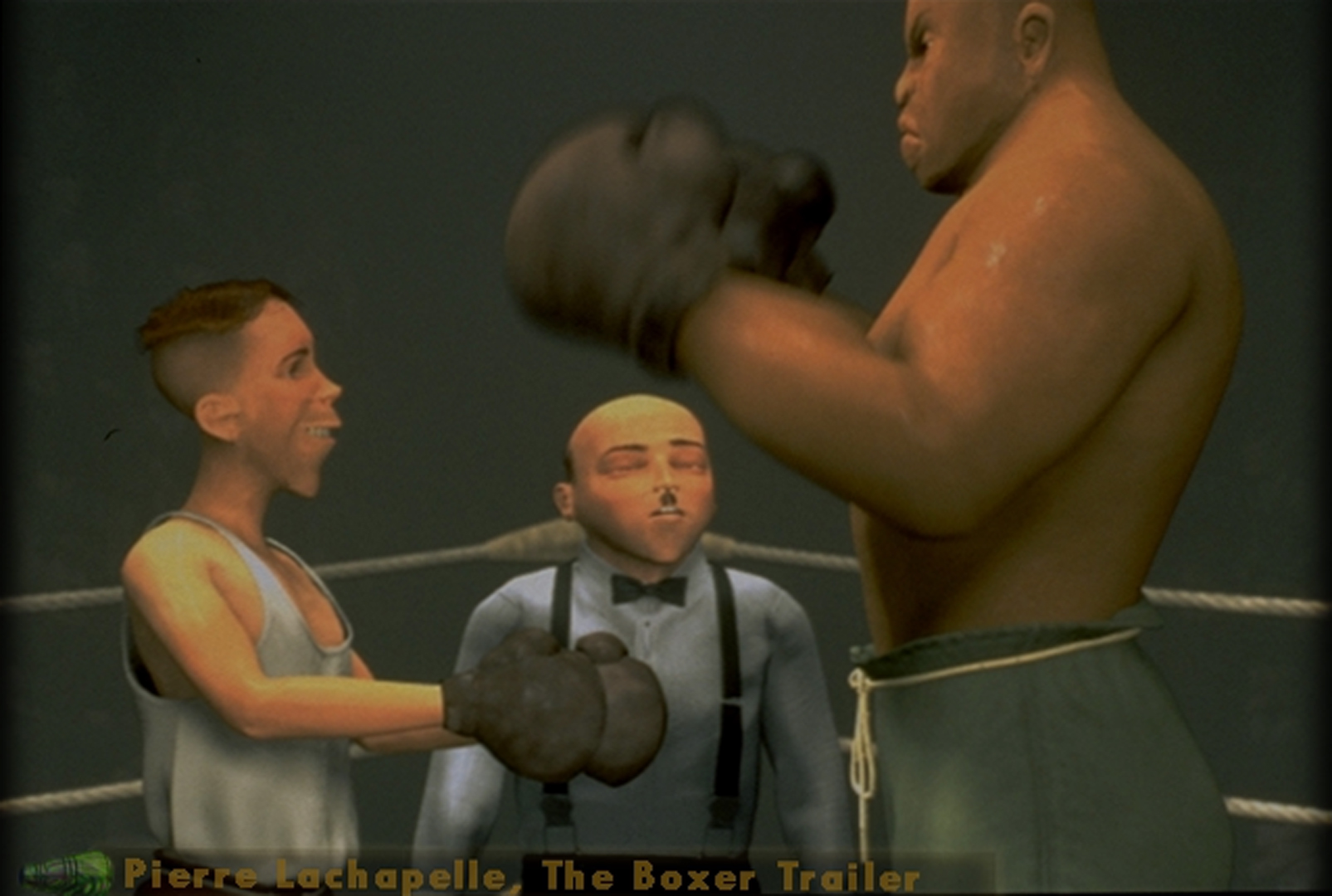©, , The Boxer Trailer