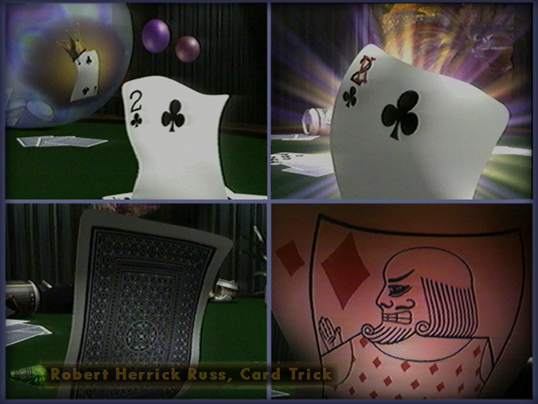 ©, Robert Herrick Russ, Card Trick