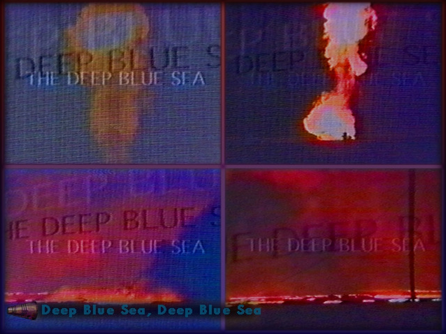 ©, Unknown artist - ISEA1995, Deep Blue Sea, Deep Blue Sea