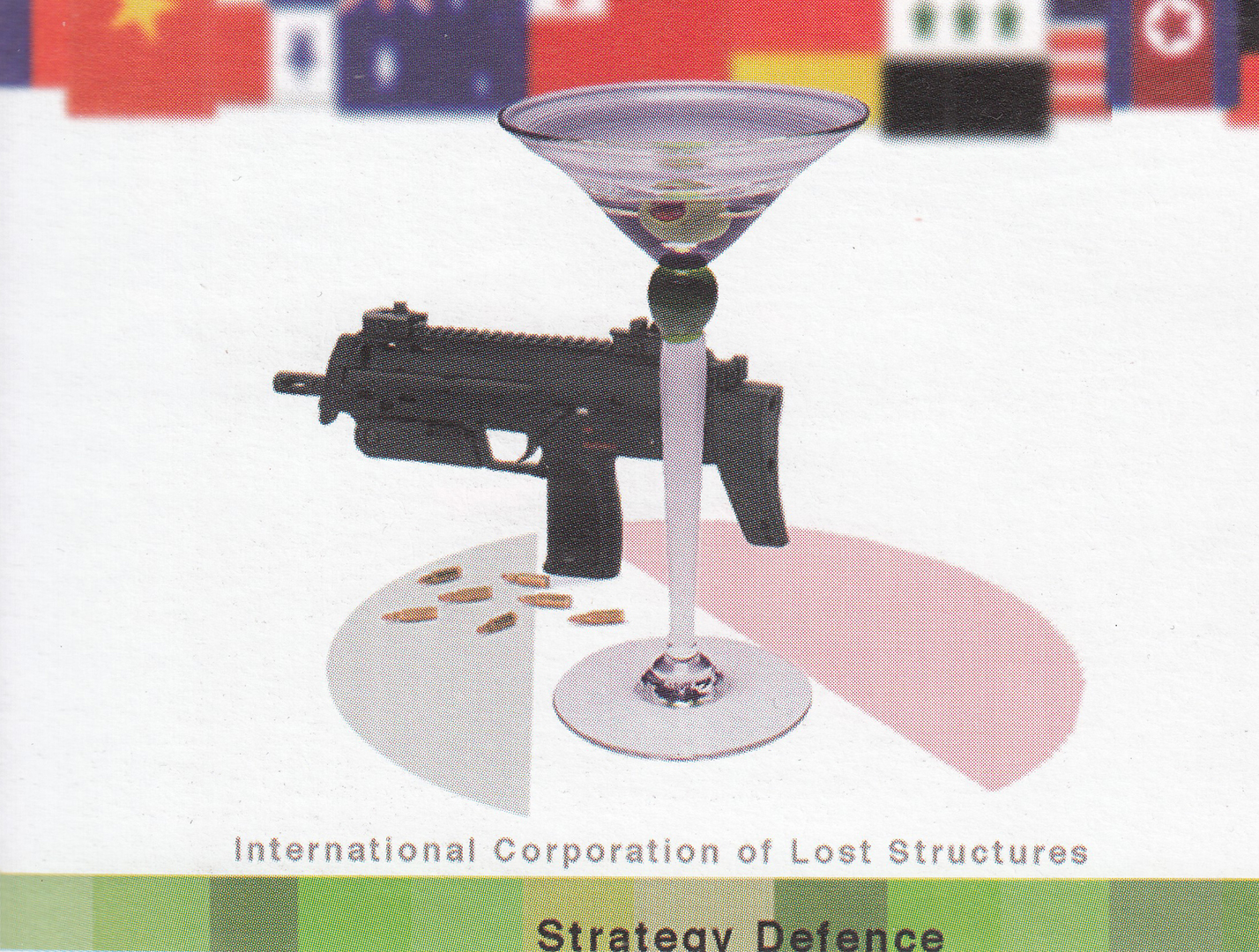 ©, Bronia Iwanczak and Suzanne Treister, The ICOLS' Strategy, Defense and Arms