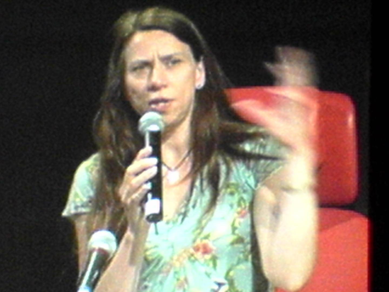 ©ISEA2006: 13th International Symposium on Electronic Art, Josephine Bosma, Voice and Code