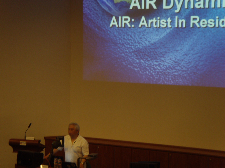 ©ISEA2008: 14th International Symposium on Electronic Art, Sam Furukawa, Air Dynamics