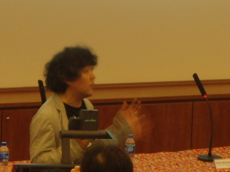 ©ISEA2008: 14th International Symposium on Electronic Art, Ken Mogi, The Contingent Brain