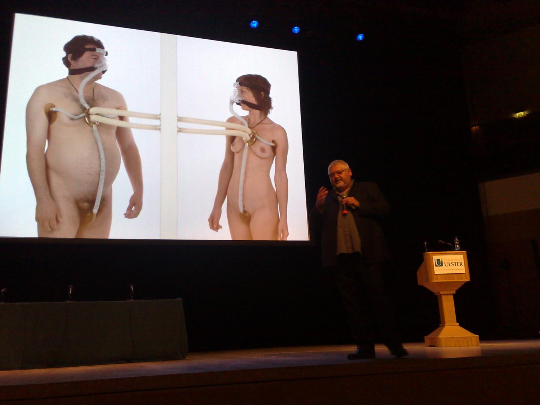©ISEA2009: 15th International Symposium on Electronic Art, Clive van Heerden, Keynote by Heerden