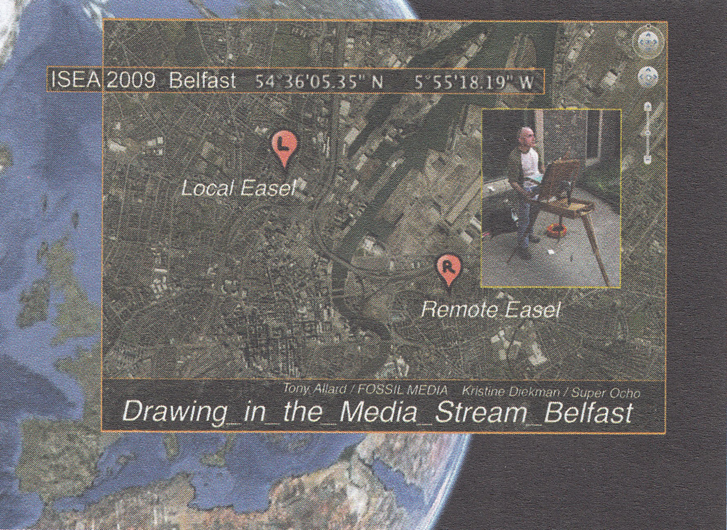 ©, Tony Allard and Kristine Diekman, Drawing_in_the_Media_Stream_Belfast