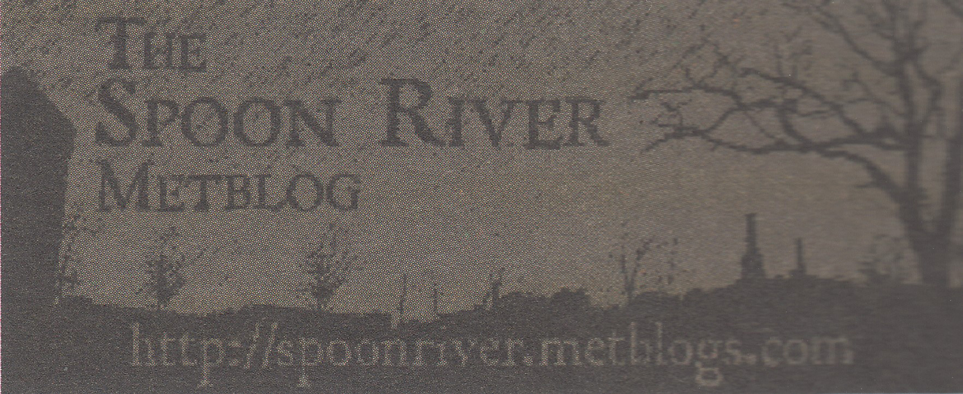 ©, Jay Bushman, The Spoon River Metblog: Net-Native Anthology and Hyperlocal Culture Wars