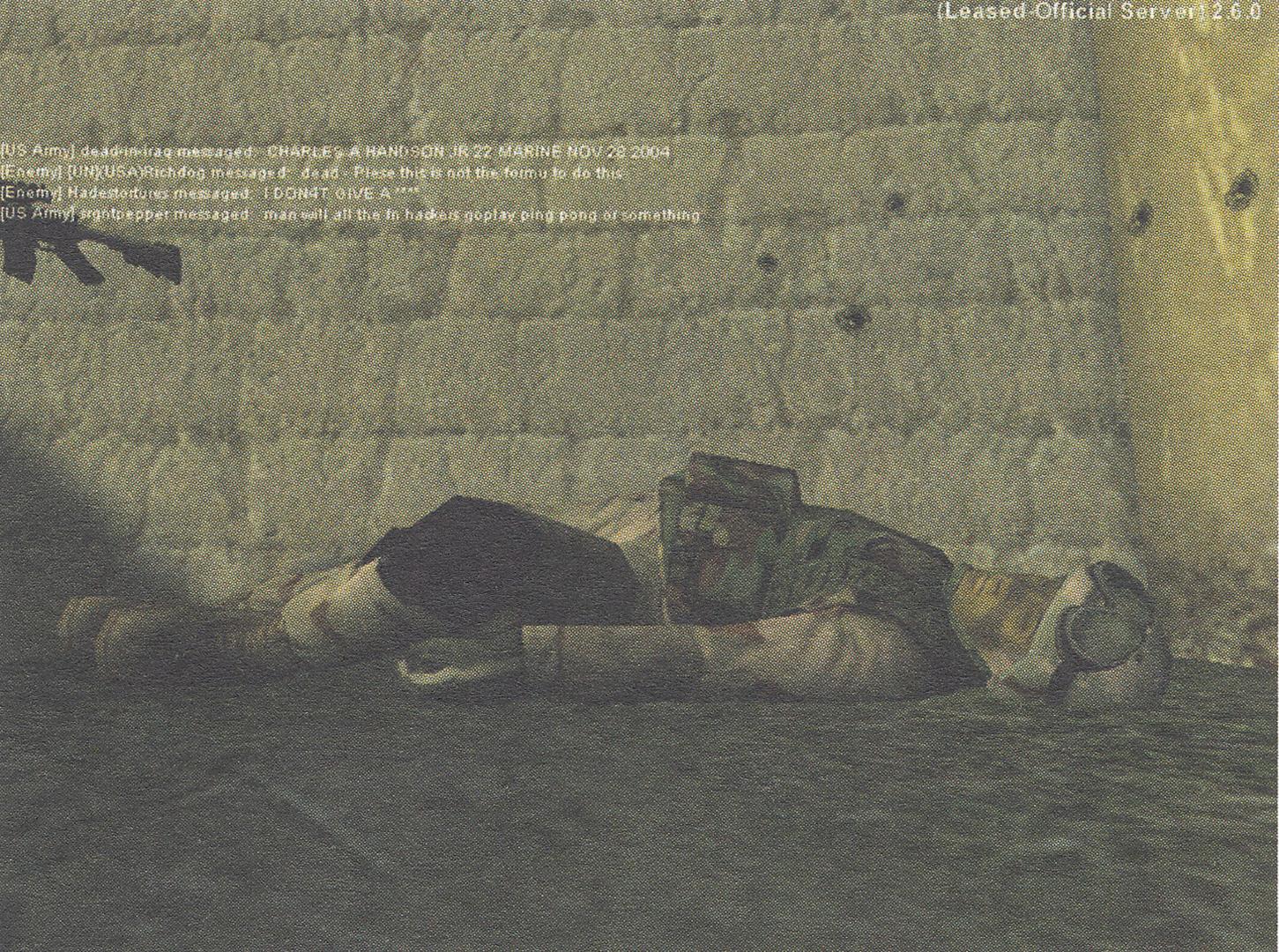 ©, Joseph DeLappe, dead-in-iraq