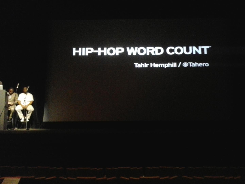 ©ISEA2012: 18th International Symposium on Electronic Art, Kwende Kefentse, Tahir Hemphill, and Hakim Bellamy, Hip Hop & Technology