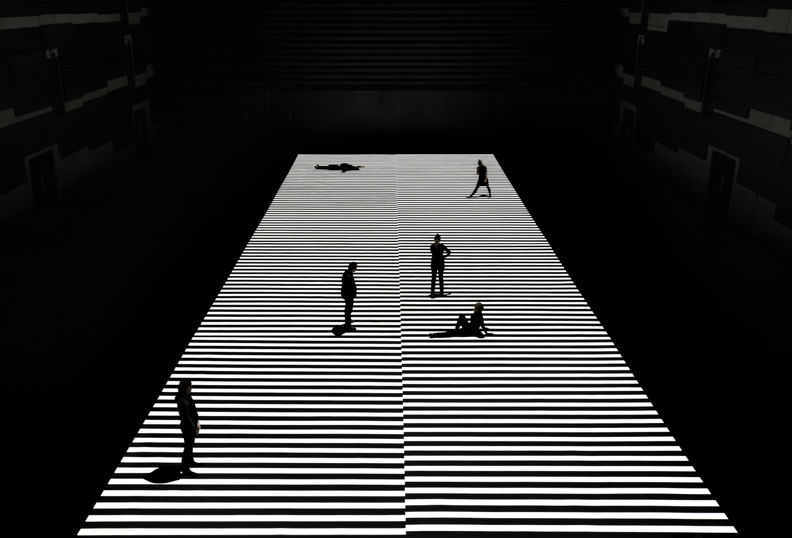 ©, Ryoji Ikeda, test pattern