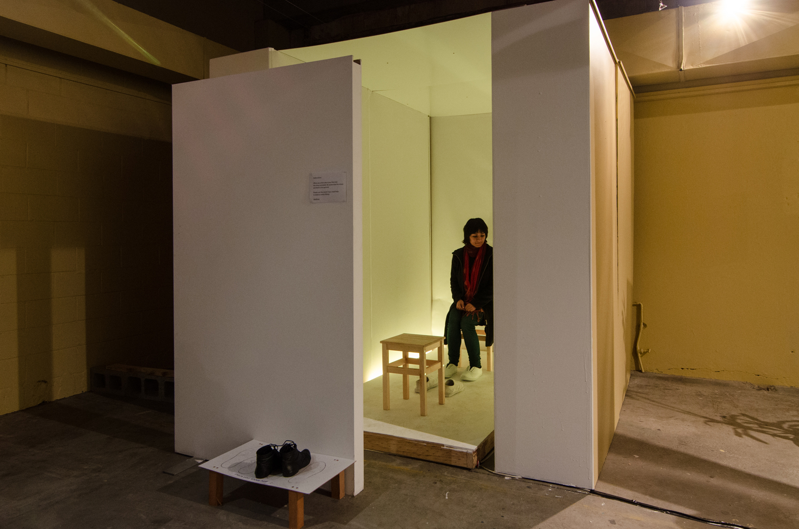 ©, Yiwon Park and Peter Wildman, The Trans-Emotion Room (2013)