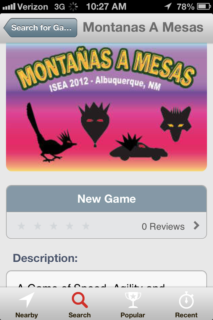 ©2012, Danielle Siembieda and DC Spensley, Montanas a Mesas: A Game of Speed Agility and Flight