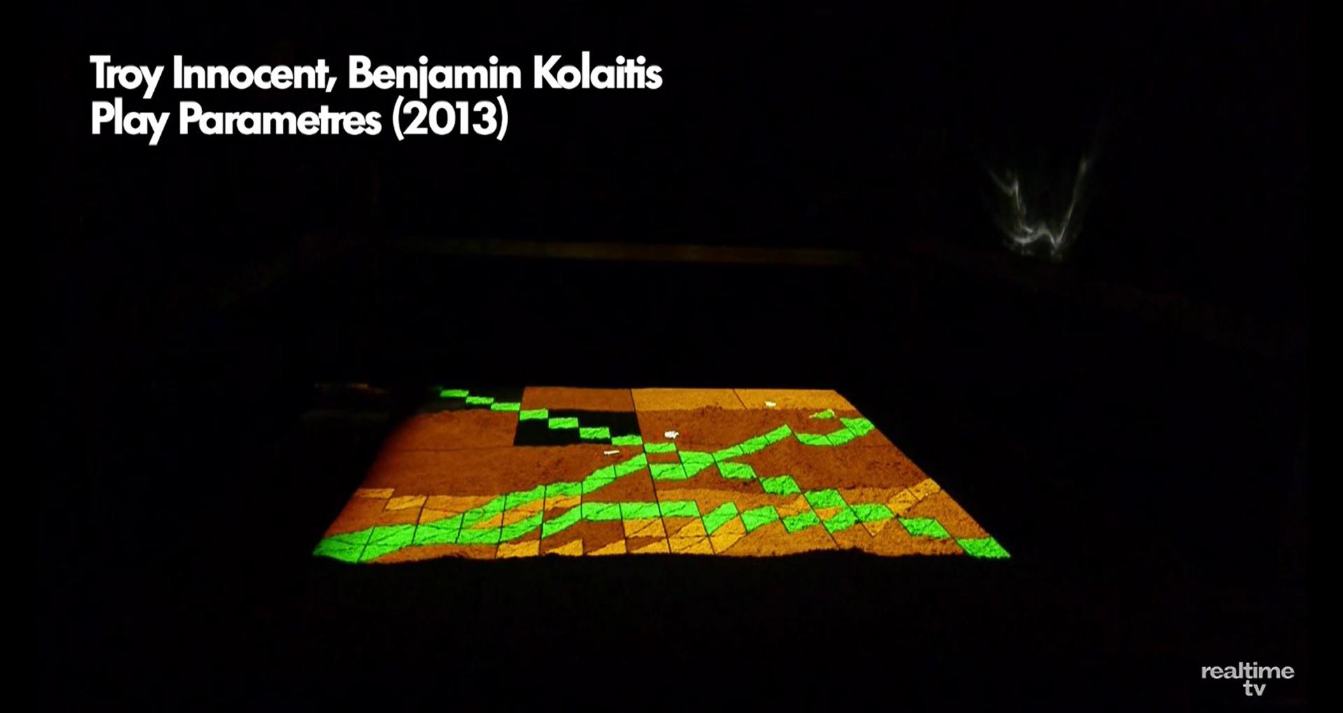 ©, Troy Innocent and Benjamin Kolaitis, Play Parametres