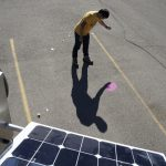 Solar Pink Pong Street Video Game