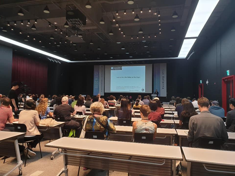 ©ISEA2019: 25th International Symposium on Electronic Art, Kwangyun Wohn, A Journey through the Culture-Technology Valley
