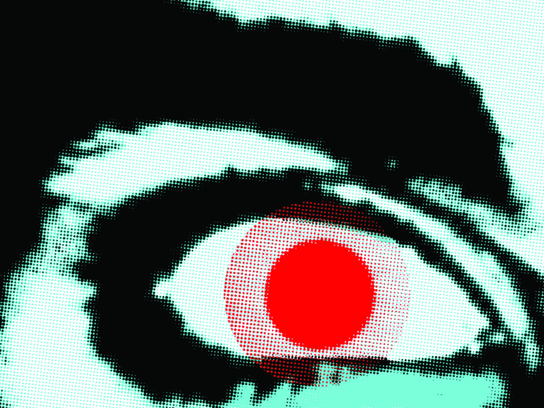 ©2014, Maryna Dykukha, Big Bro is fucked up watching you