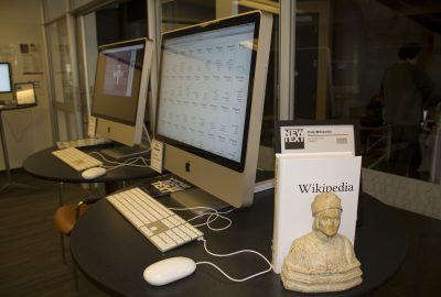 2015 Mandiberg: Print Wikipedia
