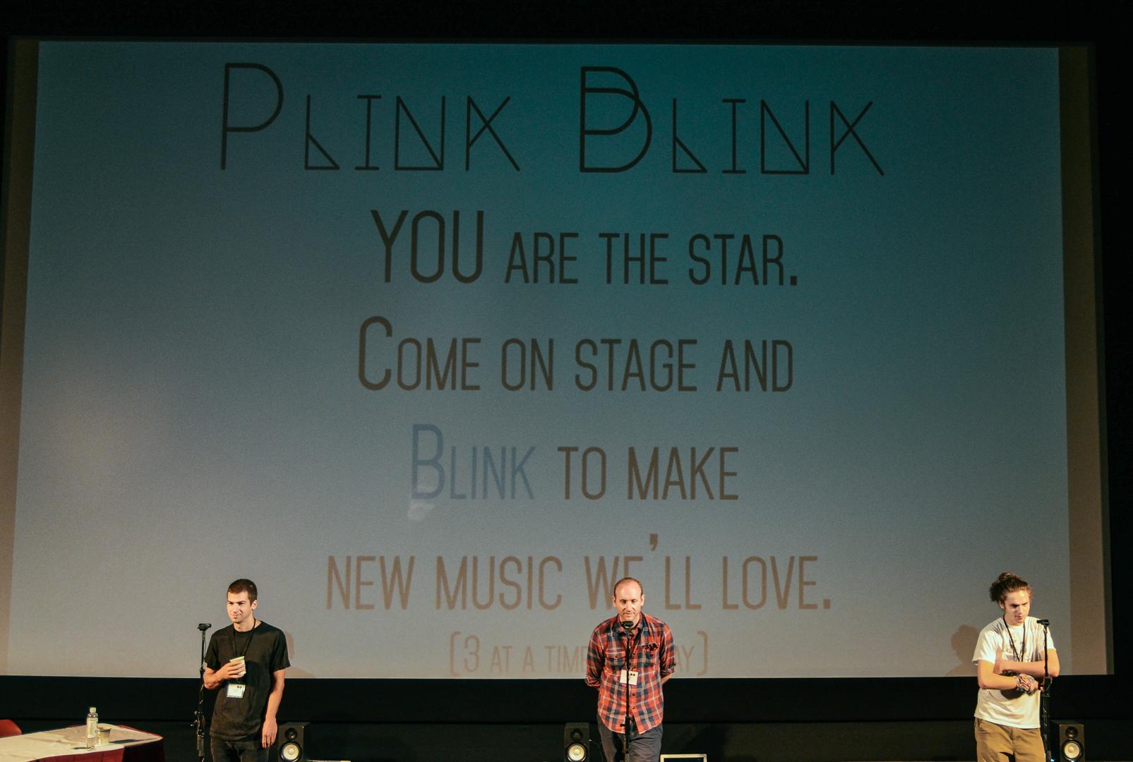 ©2014, Ozge Samanci, Blacki Li Rudi Migliozzi, and Daniel Sabio, Plink Blink