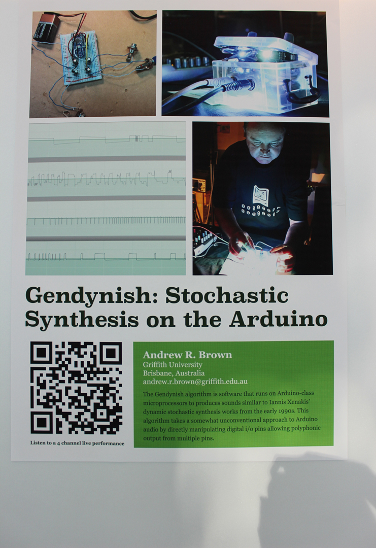 ©ISEA2019: 25th International Symposium on Electronic Art, Andrew R. Brown, Gendynish: Stochastic Synthesis on the Arduino