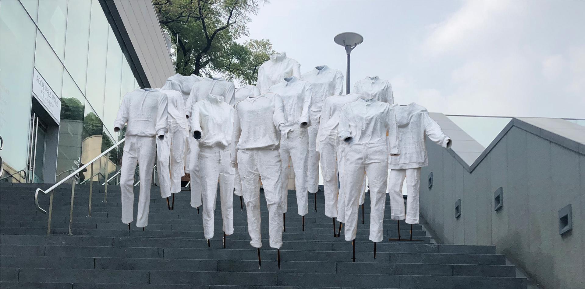 ©, Deok Yong Jung, Yea In Seo, Dan Bi Lee, Ji Hye Hong, Yea Lim Yang, and Tae Yang Kim, Crowd