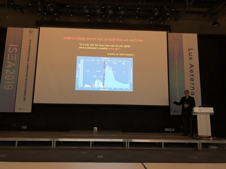 ©ISEA2019: 25th International Symposium on Electronic Art, Michael Doser, The Dark Side of Light
