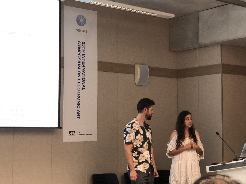 ©ISEA2019: 25th International Symposium on Electronic Art, Aleksandra Dulic and Miles Thorogood, Approaching Sustainability: Generative Art, Complexity, and Systems Thinking