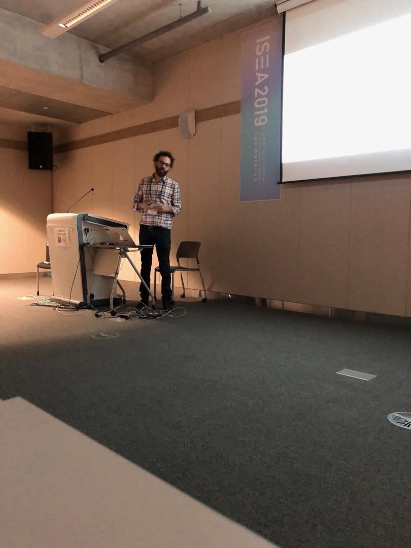 ©ISEA2019: 25th International Symposium on Electronic Art, Marinos Koutsomichalis, Hertzian, Disruptive, Experimental Text Physicalizations