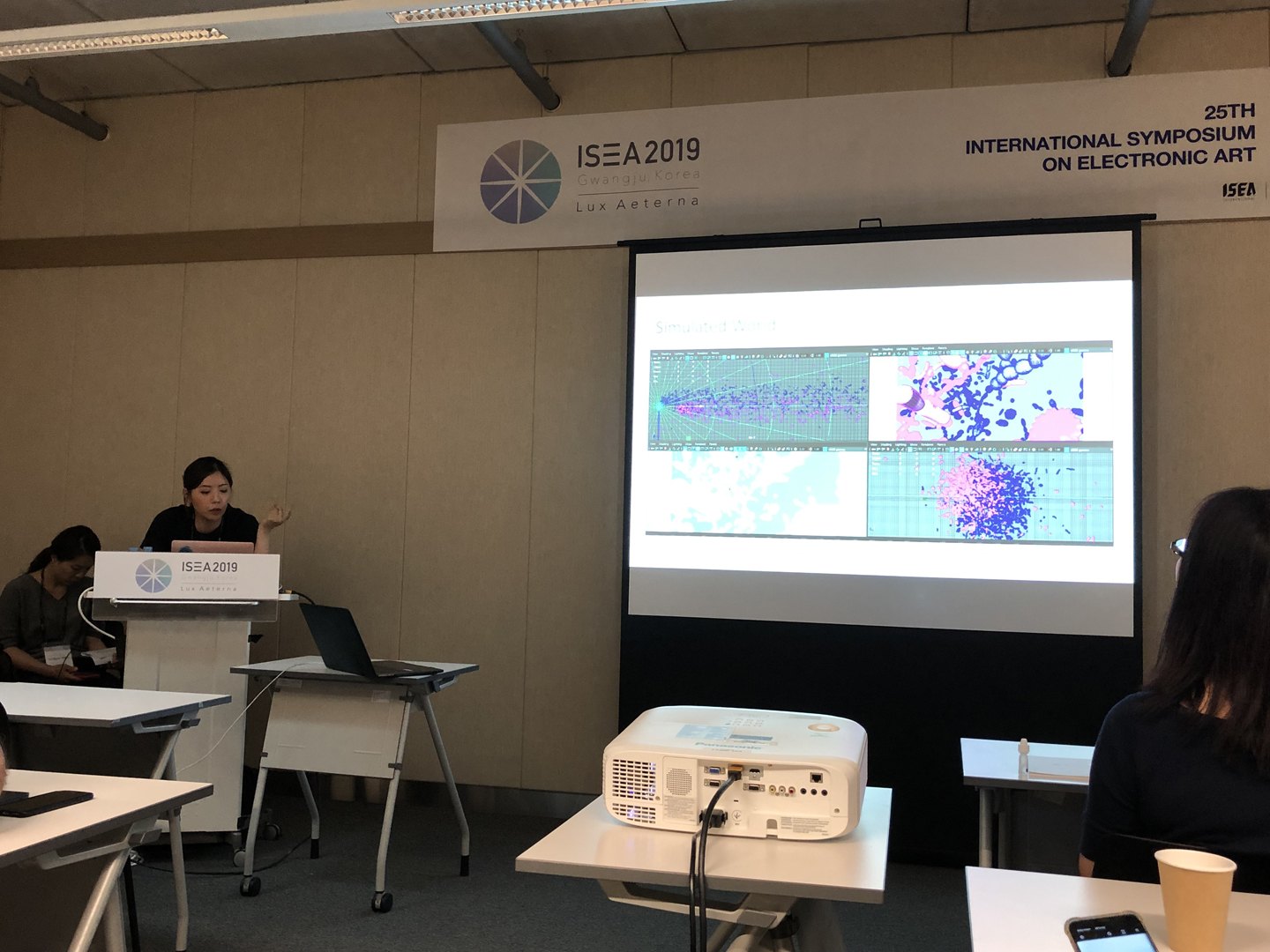 ©ISEA2019: 25th International Symposium on Electronic Art, Jongcheon Shin, Siwon Lee, Suk Chon, Keyan Jiang, and Joonsung Yoon, Seeing Life: The Impalpable Entanglement of an Artist and Microbes in Bio-Art