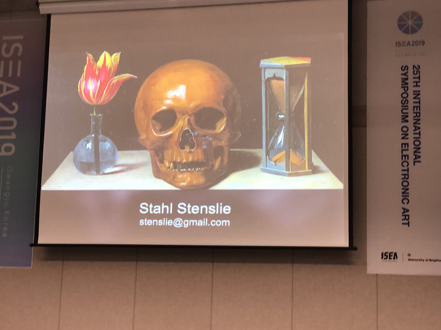 ©ISEA2019: 25th International Symposium on Electronic Art, Stahl Stenslie, Facing Death and Afterlife in Electronic Art