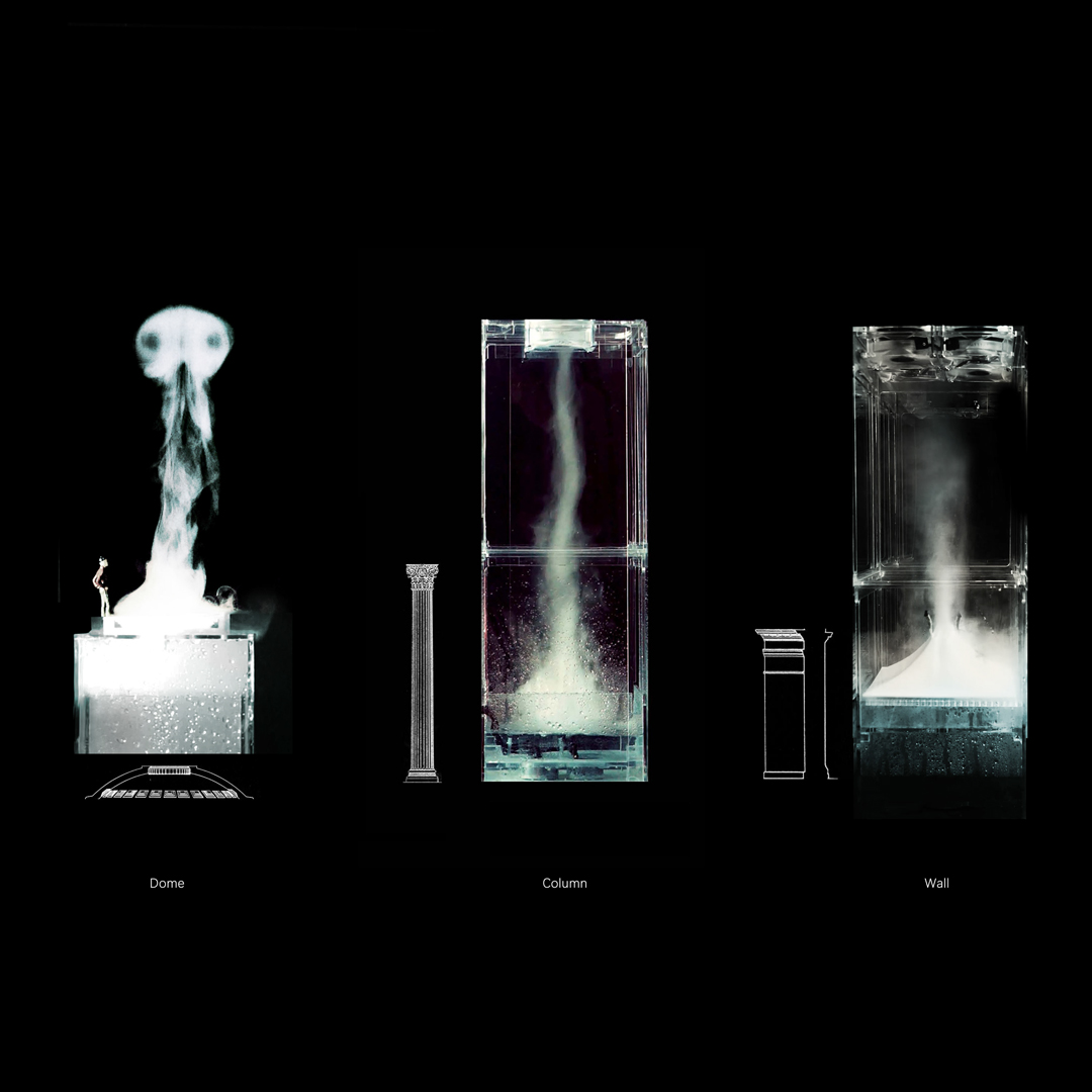 ©ISEA2019: 25th International Symposium on Electronic Art, Honghao Deng, Jiabao Li, Panagiotis Michalatos, and Xuesong Zhang, Vapor as Tectonic Element to Sculpt Microclimate in Architectural Space