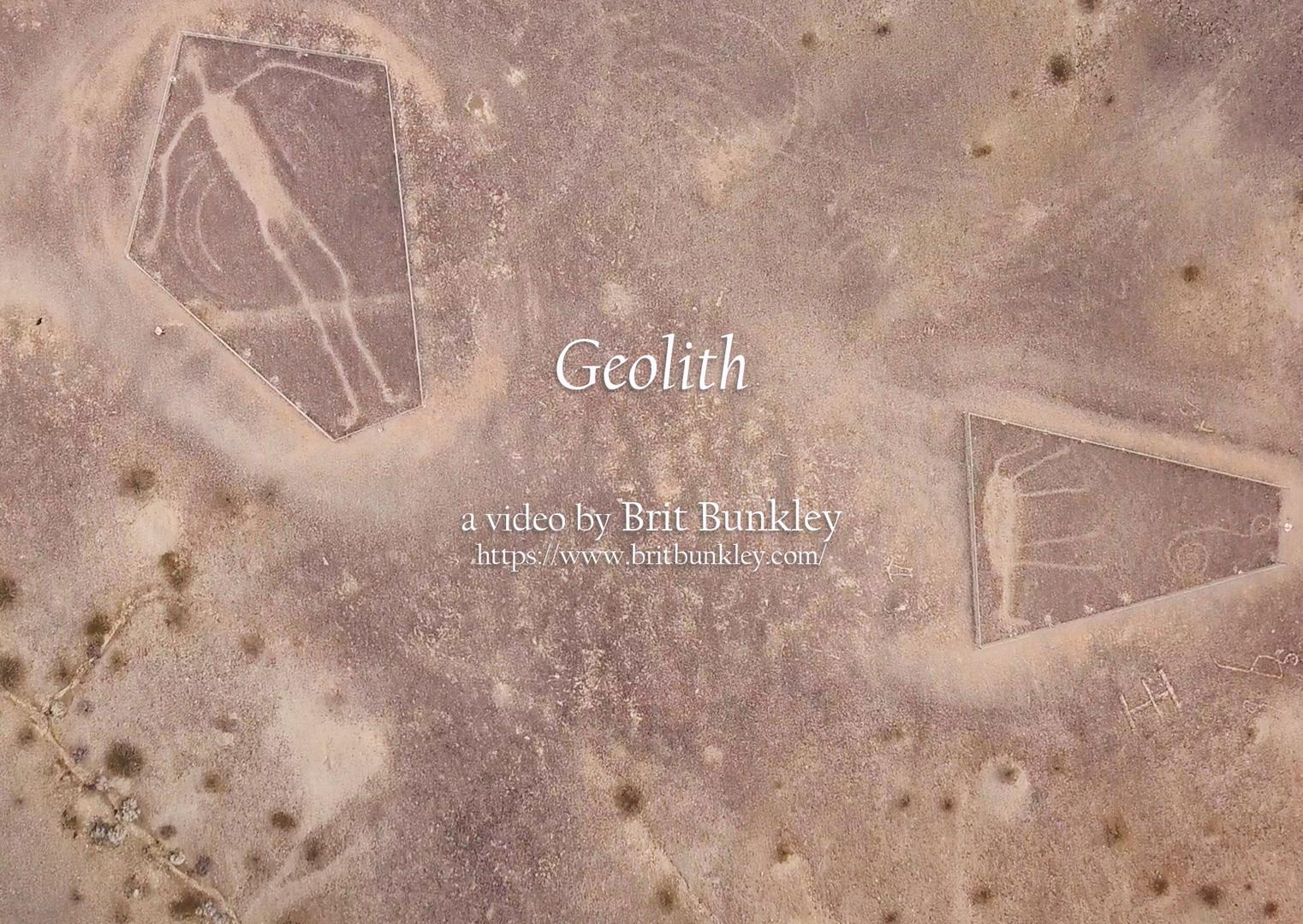 ©, Brit Bunkley, Geolith