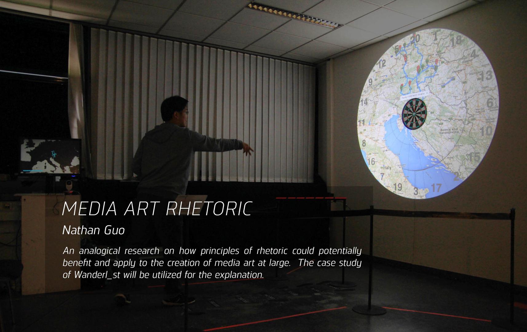 ©ISEA2016: 22nd International Symposium on Electronic Art, Nathan Guo, Media Art Rhetoric: A Case Study of Wanderl_st
