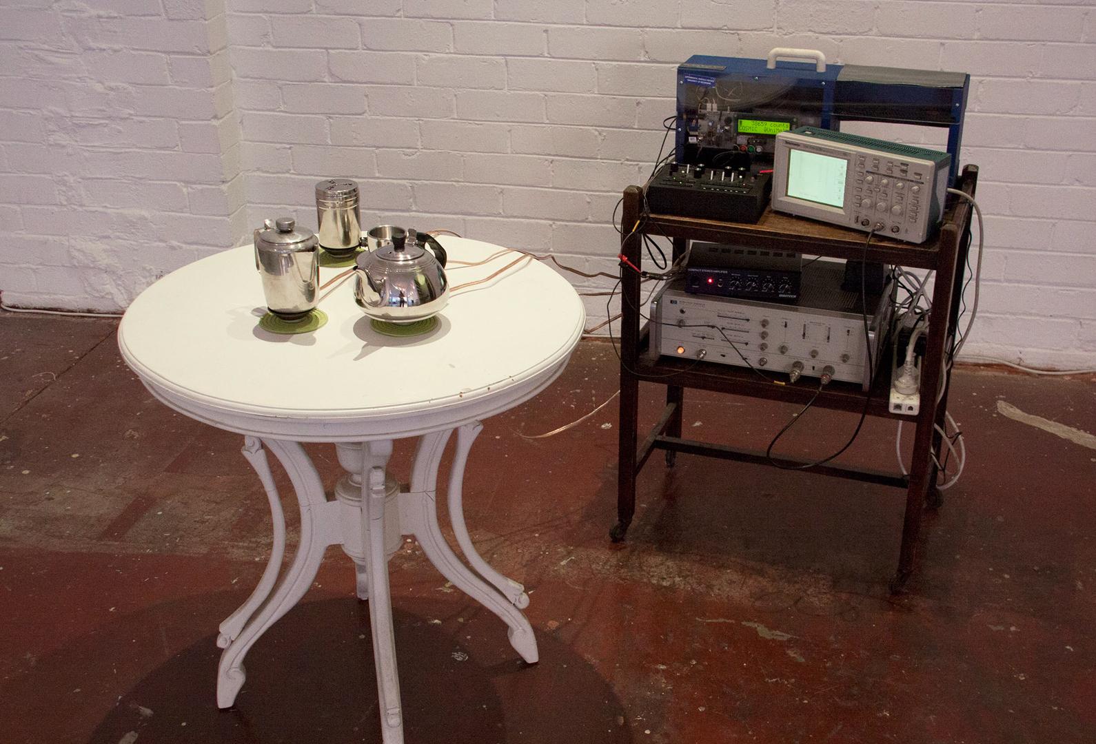 ©ISEA2016: 22nd International Symposium on Electronic Art, Chris Henschke, Cosmic Tea Party