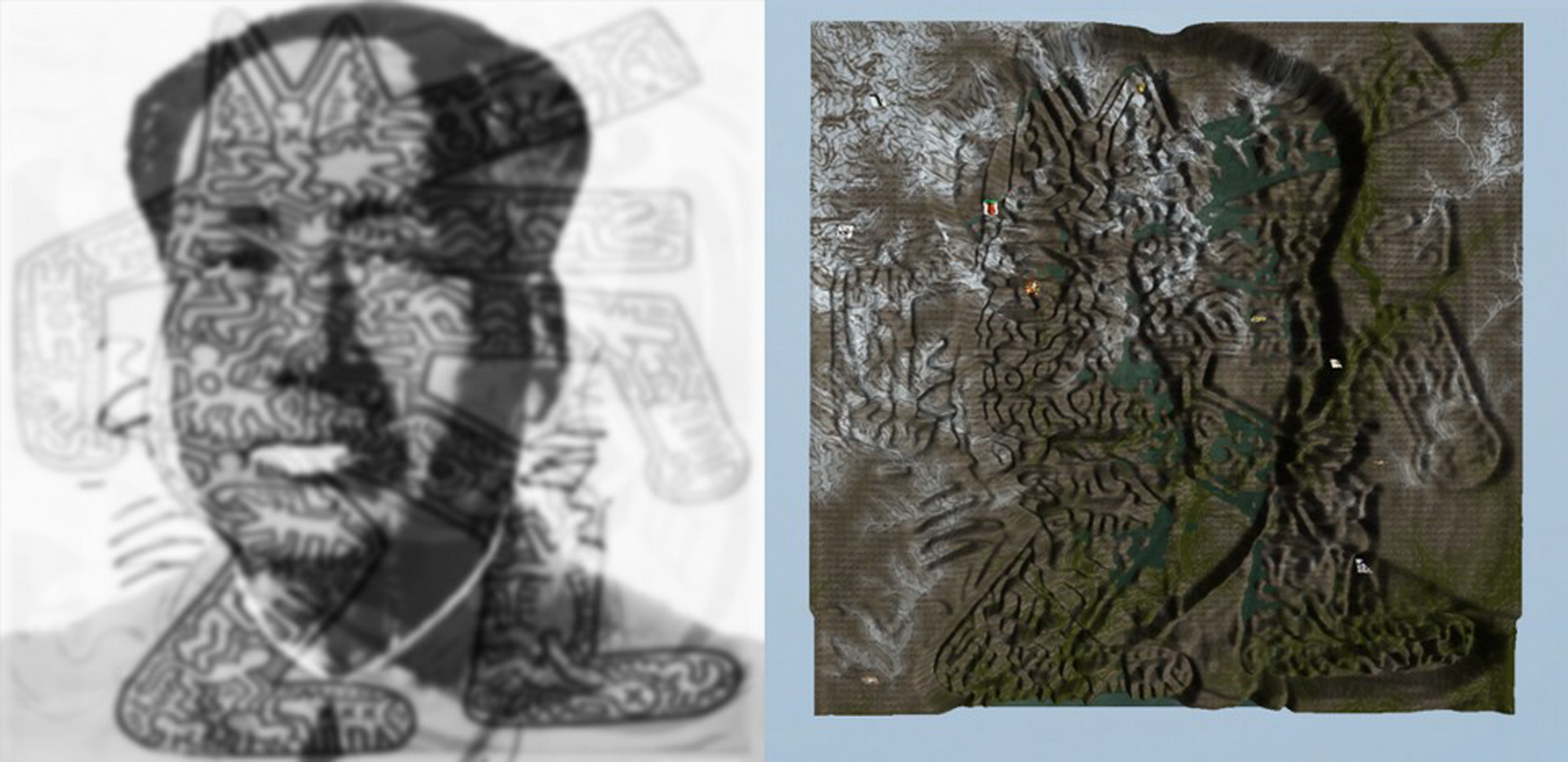 ©ISEA2016: 22nd International Symposium on Electronic Art, Fito Segrera, Accumulated Memory Landscapes: Real-time On-line 3D Landscapes Based on Prosthetic Memory Data