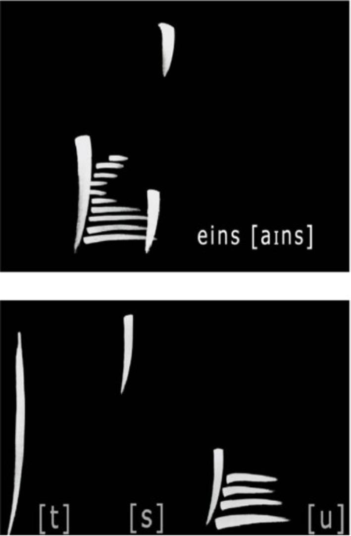 ©, Ulla Rauter, Sound Calligraphy